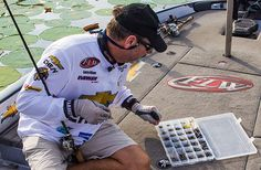 larry nixon choosing weight for worm fishing for bass