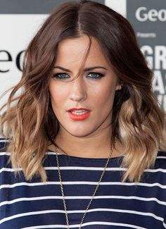medium hairstyles ombre