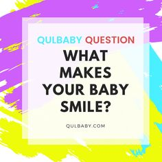 Qulbaby Question: What makes your baby smile? Baby Smiles, Calm, Babies, Make It Yourself, This Or That Questions, How To Make, Babys, Baby, Infants