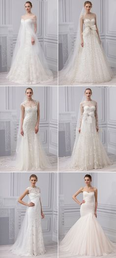 Monique L'huillier Spring 2013 Collection - so incredibly amazing!