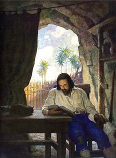 N. C. Wyeth, Robinson Crusoe
