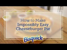 Impossibly Easy Cheeseburger Pie Recipe - BettyCrocker.com