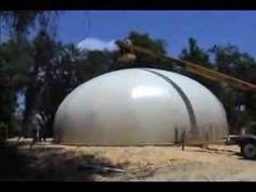 Concrete Canvas Shelters '09 - YouTube