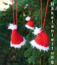 Häkelanleitung Weihnachten, Häkelbuch, Häkelheft von NastamiKreativ auf DaWanda.com