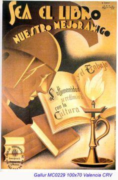 Spain - 1936-39. - GC - poster - M. Gallur