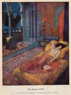 'Andersens Märchen / Andersen's Fairy Tales' edited by Eduard von der Hellen; illustrated by Artuš Scheiner. Published 1934 by Union Deutsche Verlagsgesellschaft, Stuttgart, Berlin and Leipzig.