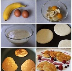 Yummy and healthy alternative to pancakes!