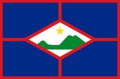 the Netherlands' Sint Eustatius, North America (Caribbean) Suriname Flag, Caribbean Flags, November Holidays, Oranjestad, Kingdom Of The Netherlands, Destinations, Caribbean Netherlands, Holidays Around The World, Flags Of The World