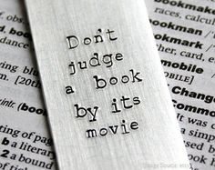 Why the Book is generally better than the movie!?