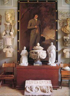 Robert Hadley — AD Italia, January 2000. Photo - Massimo Listri