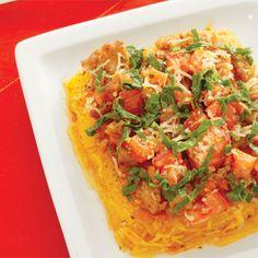 Debbie Jones' Spaghetti Squash and Turkey Sausage Casserole