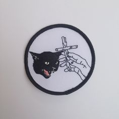 Image of Black Cat Patch