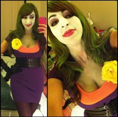 Joker #ThinkGeekoween #halloween #costume #joker #batman #rule63