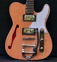 Wayne's TL-1TB in Wudtone Custom Guitar Finish