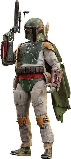 Star Wars Episode VI: Boba Fett Escala 1/6 - Hot Toys #bobafett #starwars #figurasdeação #modernistablog