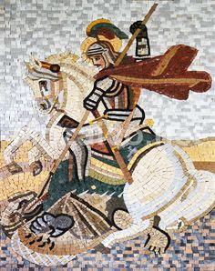 Mosaic Art   St. George Marble Mosaic Art-Religious Mosaic