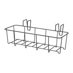 IKEA - СОММАР 2018, Держатель для кашпо, Вы можете устроить маленький садик даже на небольшом балконе, повесив держатель с кашпо на балконные перила.Можно использовать в помещении и на улице.
