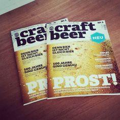 Die erste Ausgabe liegt im Laden #craftbeer #magazin #kiel #craftbeerkiel #craftbeermagazin