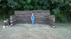 shooting range diy   http://i761.photobucket.com/albums/xx251/markm62/Railroad%20Ties ...