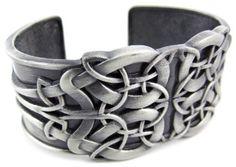 Amazon.com: Solid Pewter Celtic Endless Knot Cuff Bracelet Keltic: Jewelry