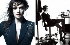 Sleek Celebrity Portraiture - Raymond Meier total) - My Modern Met - Rachel Weiss