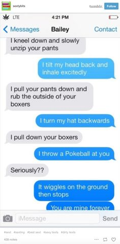 turn my boyfriend on through text message