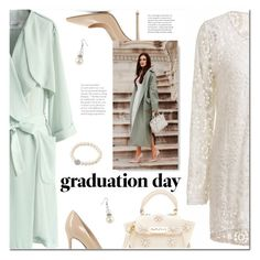 """""""Congrats, Grad: Graduation Day Style"""" by ansev ❤ liked on Polyvore featuring Chicwish, Gianvito Rossi, ZAC Zac Posen and Graduation"""
