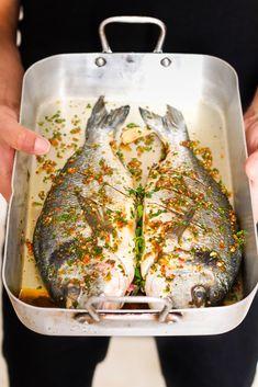 Marinade à l'harissa pour poissons