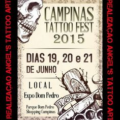 Campinas Tattoo Fest 19 Juin - 21 Juin 2015