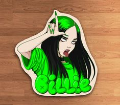 Cool Art Drawings, Pencil Art Drawings, Art Sketches, Billie Eilish, Aesthetic Art, Aesthetic Anime, Cute Patterns Wallpaper, Aesthetic Stickers, Cartoon Wallpaper