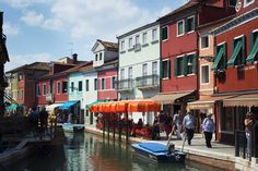 Colors of Burano, Italy #travel #europe