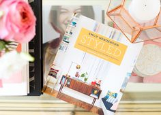Styled the book - Emily Henderson Best Design Books, Book Design, Em Henderson, Book Authors, Photography Business, Boy Room, Decorating Tips, Book Worms, Bookshelves