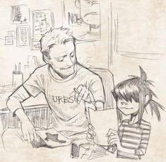 Jamie and Noodle
