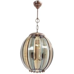For Sale on - Late 1940 chandelier in super elegant light colored curve glass. Attributed to Fontana Arte production and Pietro Chiesa design. Chandelier Pendant Lights, Chandeliers, Mid Century Modern Chandelier, Curved Glass, Light Colors, Mid-century Modern, Pendants, Ceiling Lights, Lighting