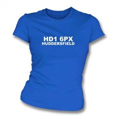 HD1 6PX (Huddersfield Town Postcode) Huddersfield Town, South London, Crystal Palace, Blue Design, Birmingham, Business Women, Red And Blue, Street Style, Mens Tops