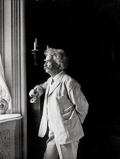 Mark Twain, 1906