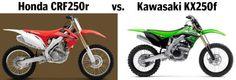 dirt bike dilemma: honda crf250r or kawasaki kx250f? ow.ly/8KwDj
