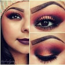Do not like the eyebrows. Love the eye make up though :) Fall Makeup Looks, Pretty Makeup, Love Makeup, Makeup Inspo, Makeup Tips, Makeup Ideas, All Things Beauty, Beauty Make Up, Painted Ladies
