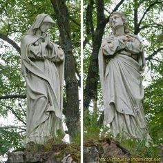 Le Grand Calvaire avec Pieta.Saxon-Sion-Lorraine