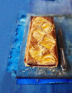 Pear and hazelnut Bakewell: Sweet pastry filled with the best frangipane and topped with pears. This is one of our favourite sweet recipe combinations for a dinner-party dessert or even afternoon tea.