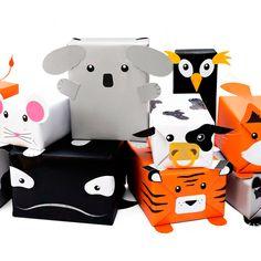 Animal Gift Wrap, papel de presente divertido. - Blog da Mari Sanches