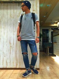 Ryosuke Sakai|UNIQLOのTシャツ・カットソーを使ったコーディネート - WEAR