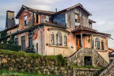 An abandoned home in Portugal.  I would love to have seen her in her prime.