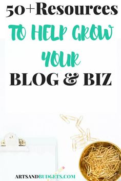Are looking for the best places to find stock photos for your blog, or looking for best themes? If so, you are in the right place.  I have compiled over 50 resources and tools to help you on your blogging journey right in this post! :)