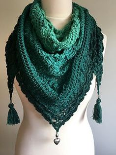 Lost in Time Shawl / Sjal ? Mijo Crochet Crochet - Lost ...
