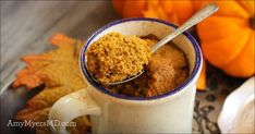 Does it get any better than protein-packed, pumpkin-flavored, and PALEO mugcake for fall? Give it a try!