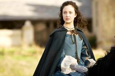 .Andrea Riseborough as Angelica Fanshawe in The Devil's Whore (2008).