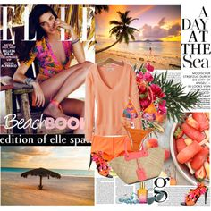 """""""A day at the sea"""" by gifra on Polyvore"""