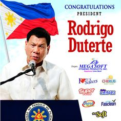 The road will be long and not well-paved, but we will support you all the way. DUTERTE IS OUR PRESIDENT!  #DU30