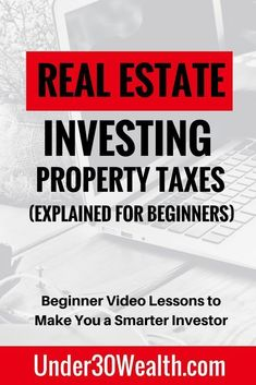 Real estate investing tips for beginners on property taxes and how they are calculated as well as how the tax is distributed to the city schools and projects as part of the property tax budget plan. Learn how to use property taxes in the investment analysis stage to determine return on investment. Click to watch this video lesson and subscribe to the YouTube channel or hit save to share this pin! #wealth #money #investing #personalfinance #budgeting #howtogetrich…